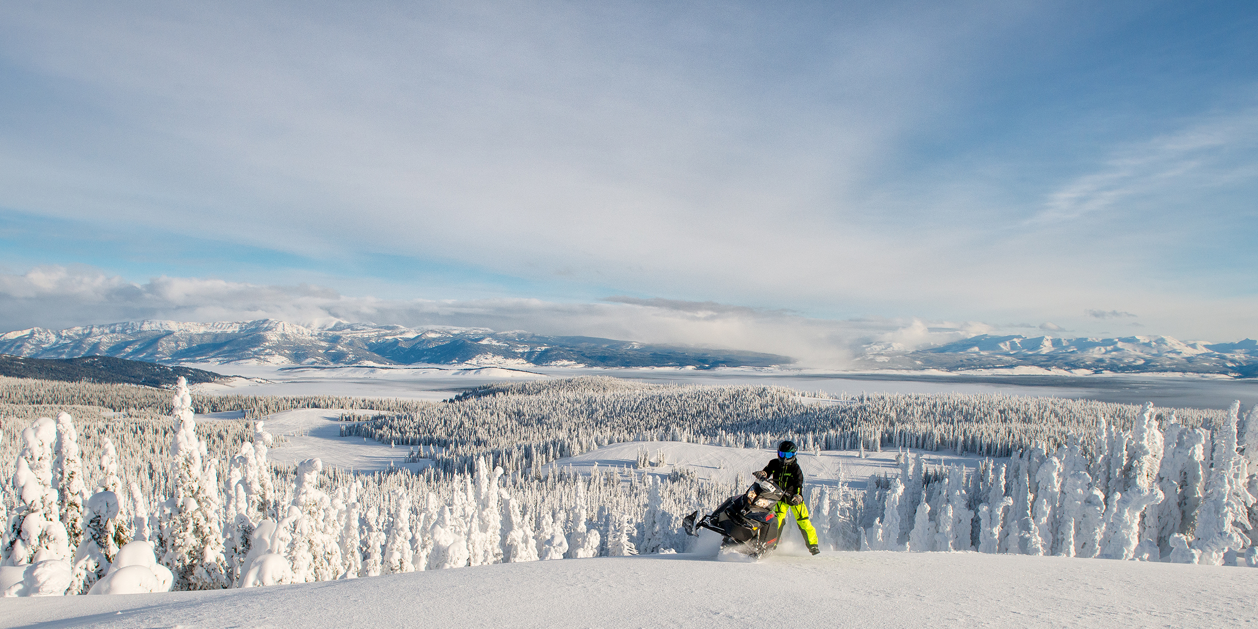 Snowmobiling in Glacier and Yellowstone Country