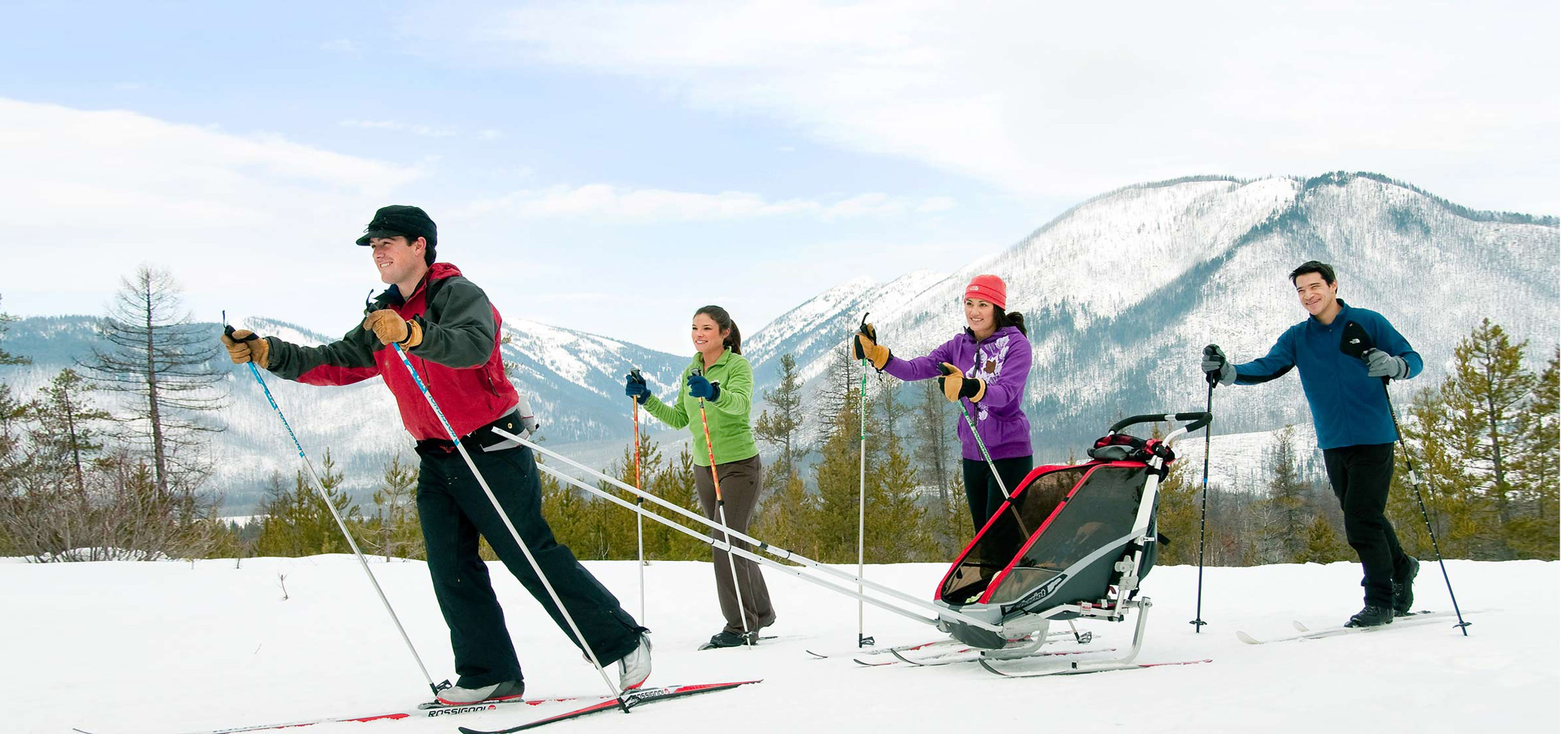 Nordic skiing in Glacier and Yellowstone Country